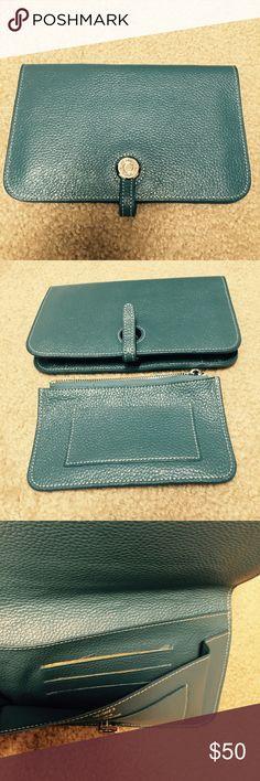 Hermes Wallet Hermes Wallet. Sky blue. Brand new. Replica. Hermes Bags Wallets