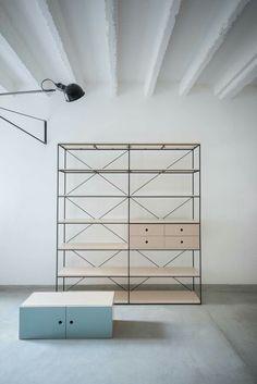 Studio Autori Furniture Design Modern, Furniture Design, Bookcase Design, Contemporary Furniture Design, Shelving, Modern Scandinavian Interior, Sculptural Design, Contemporary Furniture, My Furniture