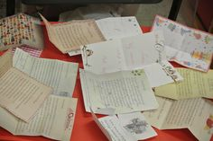 Zoveel post! Bij iedere brief de juiste envelop zoeken met dezelfde opmaak