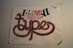 more than type by AleNuCreative