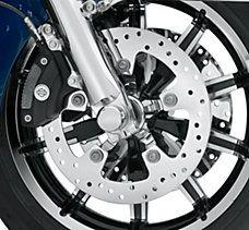 Front Polished Brake Rotor