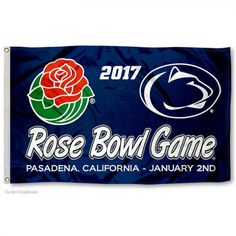 Penn State Rose Bowl Flag - Great game - Sad ending! Congratulations on an outstanding 11 - 3 season.