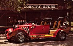 Beverly Hillbillies Hot Rod, designed by George Barris.This truck sold for only $6,900 in 1996 at Barrett Jackson.