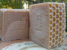 Natural #Handcrafted Soap - Large Soap Goats Milk with Golden Blossom