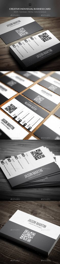 Creative Individual Busienss Card Template PSD   Buy and Download: http://graphicriver.net/item/creative-individual-busienss-card-11/9023218?WT.ac=category_thumb&WT.z_author=bouncy&ref=ksioks