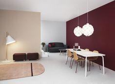 Norm12 Lamp, Sumo Pouf, Oona Rug, Hello Lamp, My Chair, Onkel Sofa, Brick Cushion