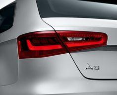 Audi A3 Audi A3 Sportback, Tail Light, Motorcycles, Cars, Detail, Nature, Design, Naturaleza, Autos