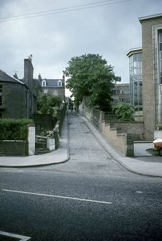 Hawkhill Place Dundee off Perth Road Dundee, West End, Historical Photos, Perth, Old Photos, Scotland, Sidewalk, Architecture, City