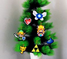 The Legend of Zelda Triforce  Christmas Tree Ornament  www