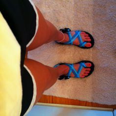 Chacos and running shorts =the best combination in the world!!!❤