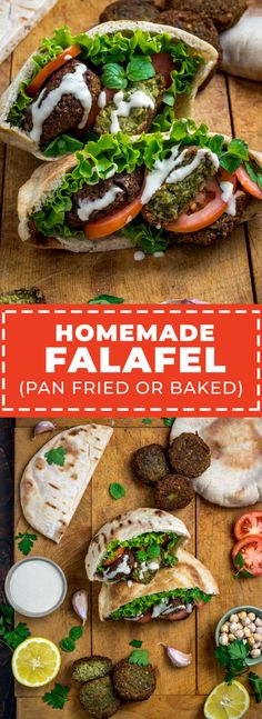 Homemade Falafel (Pan-Fried or Baked) - Host The Toast Baked Falafel, Falafel Recipe, Arabic Food, Arabic Dessert, Arabic Sweets, Dried Beans, Middle Eastern Recipes, Fresh Herbs, Smoothie Recipes
