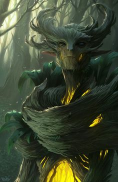 The great Spriggan of the  Illyan forest serve as eternal Guardians to the ancient wood.