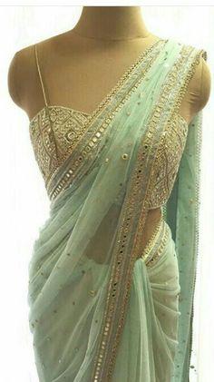 By designer Arpita Mehta. Bridelan- Personal shopper & style consultants for Indian/NRI weddings, we Indian Wedding Outfits, Indian Outfits, Indian Dresses, Indian Clothes, Saree For Wedding, Designer Sarees Wedding, Pakistani Dresses, Indian Attire, Indian Wear