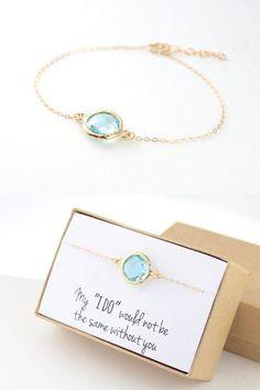 Aqua Blue / Gold Circle Bracelet - Blue and Gold Bracelet - Bridesmaid Jewelry - Aqua Bridesmaid Round Bracelet - Bridesmaid Gift-BB1