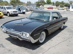 1962 Ford Thunderbird - fabulous year if I don't say so myself!!***Research for possible future project. (My first car.)
