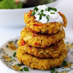 Cauliflower Chickpea Patties - Vegetarian Recipes and Healthy Living