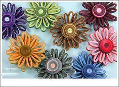 Quilling flower making ~ Crazzy Craft