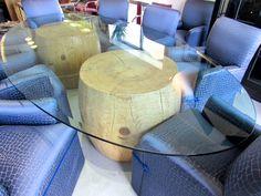Mimi London Sitka Spruce drum table