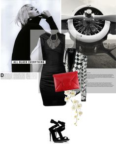 """Little Black Dresses"" by magdafunk ❤ liked on Polyvore"