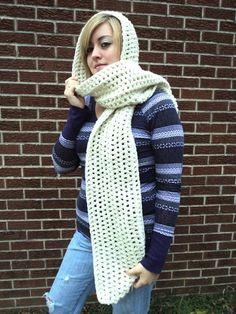 Super Simple Scoodie Pattern (hooded scarf)
