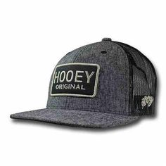 Hooey Hat Gray  amp  Black