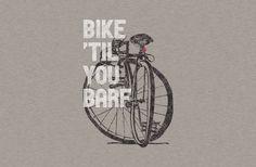 Bike 'Til You Barf - BustedTees