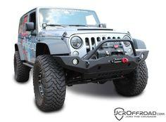JK Front Bumper | Vanguard Full Width | Jeep Wrangler (07-16)