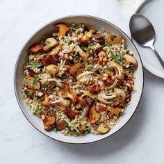 Food & Wine: Mushroom-Barley Salad