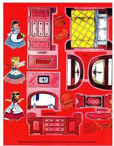vintage lets play house via etsy vintage modern dollhouse furniture 1200 etsy