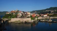 Costa del Mar Negro en Turquia