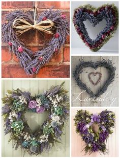 One day I will have a field of lavender outside my kitchen sink window. Lavender Crafts, Lavender Wreath, Lavender Garden, Lavender Color, Lavender Flowers, Dried Flowers, Lavander, Lavender Scent, Color Lavanda