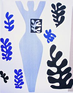 Matisse Cutout. #art #artists #matisse                                                                                                                                                     More