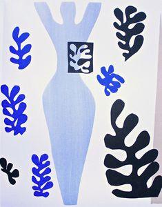 Matisse Cutout. #art #artists #matisse More