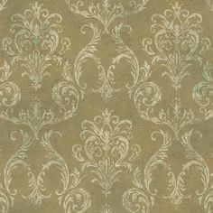 Neoclassic Cameo Wallpaper by York Wallcoverings GL4658 - papermywalls.com