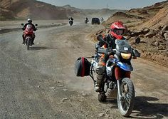 Motorcycle the entire Silk Road