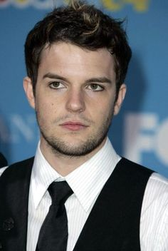 Brandon flowers young with eyeliner