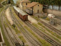 """Scala TT - il forum sulla """"scala perfetta"""" - Il plastico """"CASTELLO"""" - di Luciano Lepri"""