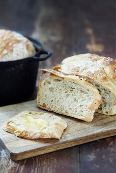 Pataleipä // No Knead Pot Bread Food & Style Kati Pohja Photo Joonas… Cooking Bread, Bread Baking, Bread Food, Nordic Recipe, Finnish Recipes, Savoury Baking, Greek Recipes, Perfect Food, Creative Food