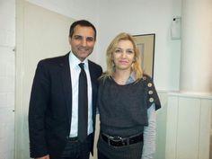 Mit der Sänger Rafet El Roman