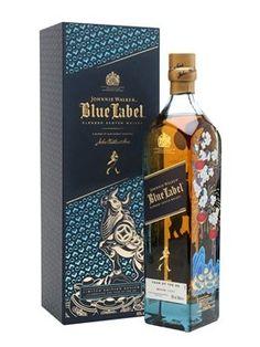 Johnny Walker Blue Label, Blended Whisky, Christmas Gift Guide, Christmas Gifts, Liquor Store, Scotch Whisky, Distillery, Whiskey Bottle, Cigars