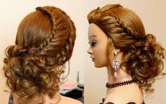 Image result for formal hairstyles