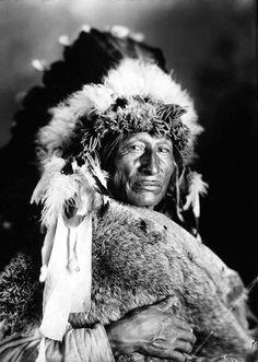 One Bull. Lakota. Early 1900s. Photo by F.B. Fiske.