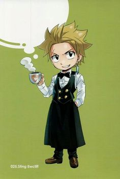 Sting | via Tumblr He is like the hottest character in fairytail.... (after Natsu of course...!)
