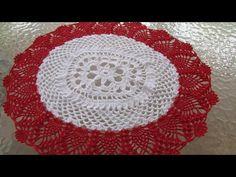 Centro de mesa - carpeta a crochet (modificada) con nuevo video - Mi rincón del tejido - YouTube
