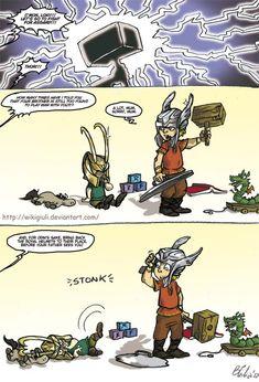 Loki - the art of growing by ~wikigiuli