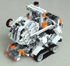 lego mindstorms robotic arm building instructions