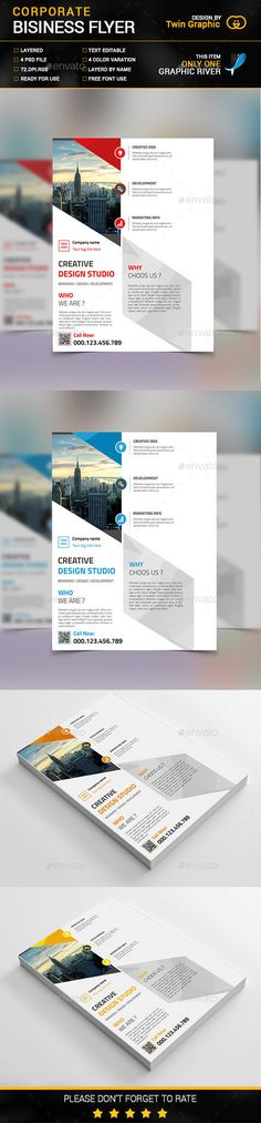 Smart Business Flyer  Business Flyers Psd Flyer Templates And