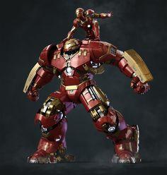 I made the Hulkbuster 3D model