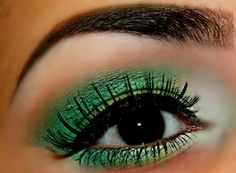 green, st pattys day idea :)