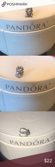 Discontinued Pandora Rabbit charm In great used condition, authentic pandora Pandora Jewelry
